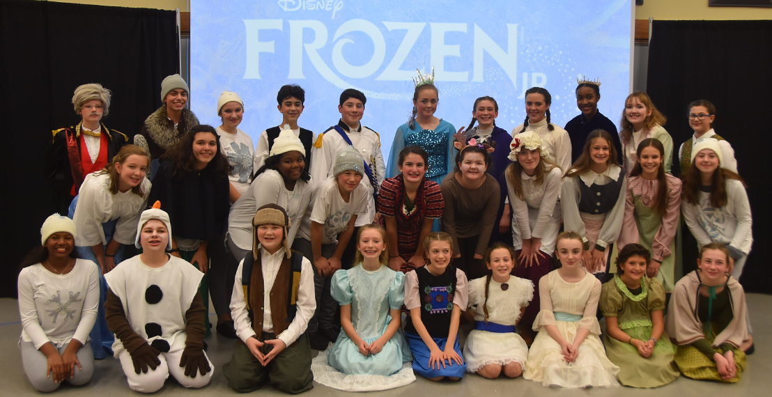 CBA presents the cast of Frozen