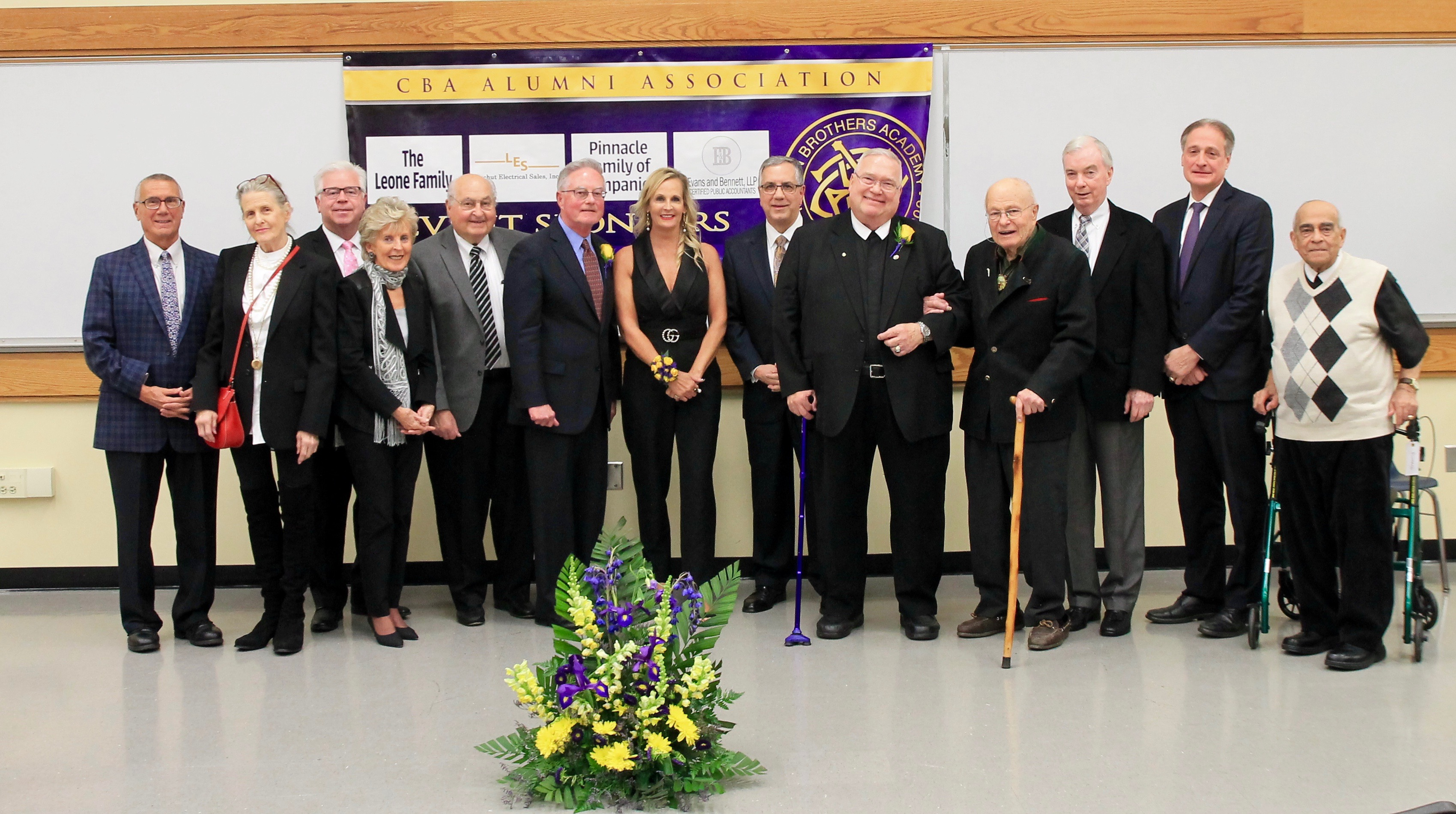 Christian Brothers Academy Former Purple and gold recipients