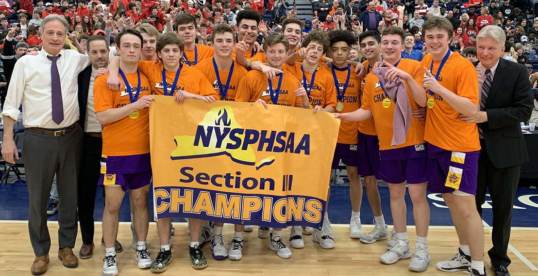 CBA Boys Basketball Sectional Champions