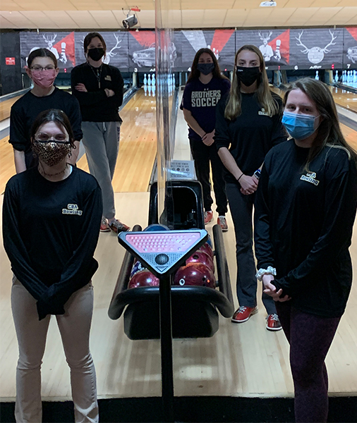 girls bowling team from christian brothers academy