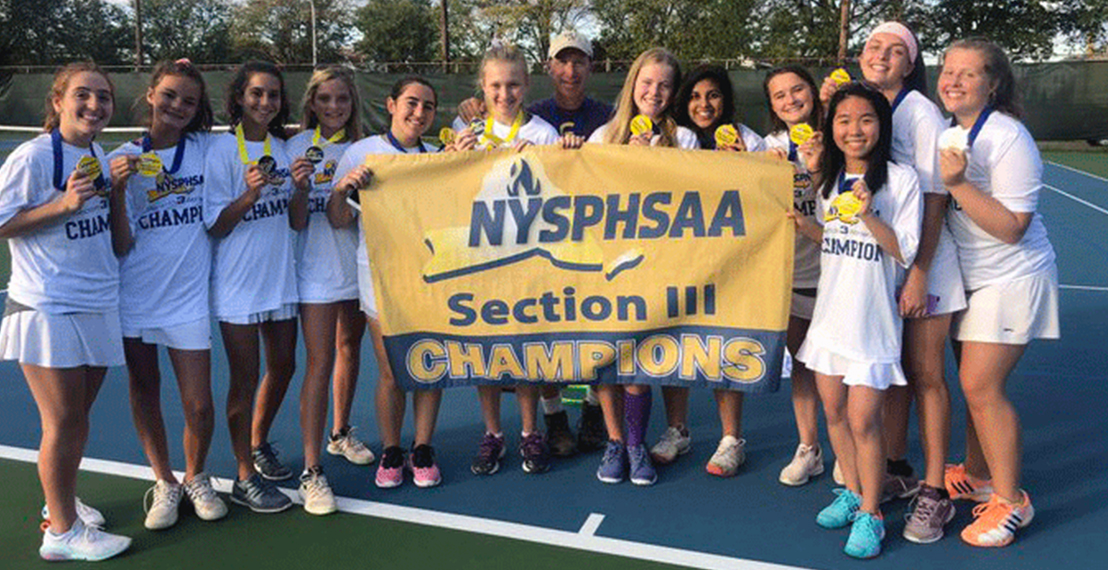 CBA Girls Tennis Sectional Champions
