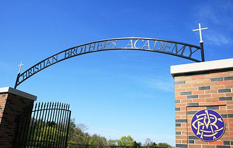 private high schools near syracuse ny image of christian brothers academy sign hanging over entrance on sunny day